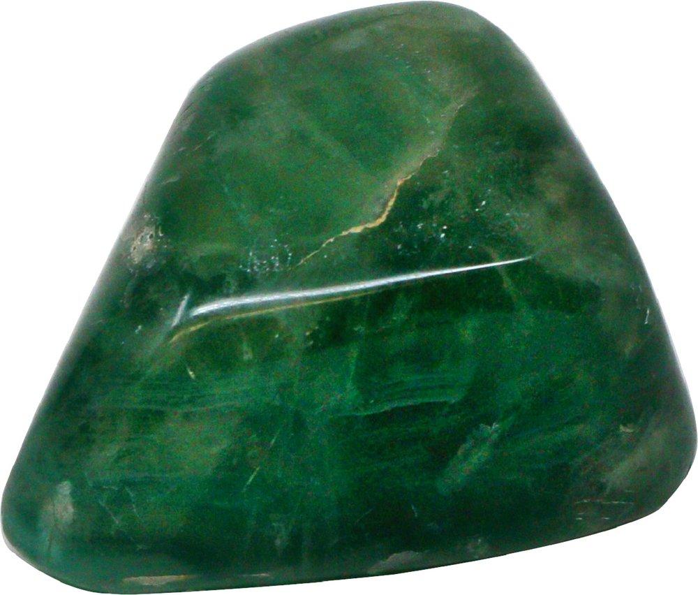 1 Stück Fluorit Trommelstein XL, 5-7 cm