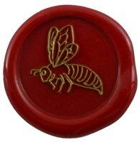 Siegelstempel Petschaft Biene 24 mm