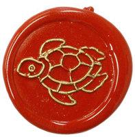Siegelstempel Petschaft Schildkröte 24 mm