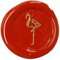 Siegelstempel Petschaft Flamingo 24 mm