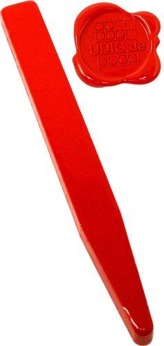 UDIG Siegellack Feuerrot, 1 Stange, 12,8 cm