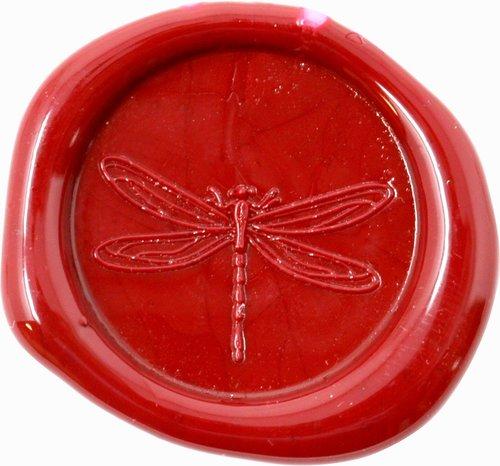 Siegelstempel Petschaft Libelle 24 mm
