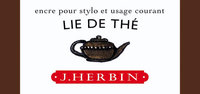J. Herbin Tinte für Füller Flakon 30 ml. teebraun