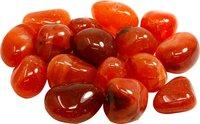 250 g Carneol Trommelsteine medium 2 bis 3 cm