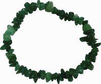 Aventurin Splitter-Armband, grün
