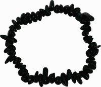 Obsidian Splitter-Armband, schwarz