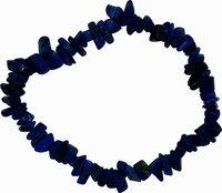 Lapis Lazuli Splitter-Armband, blau