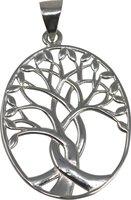 Baum des Lebens Anhänger, 925er Silber, 4 cm