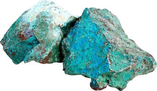 1 kg Chrysocoll / Chrysokoll Rohsteine, 1-3 Steine