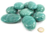 100 g Amazonit Trommelsteine XXL, 5 bis 7 cm