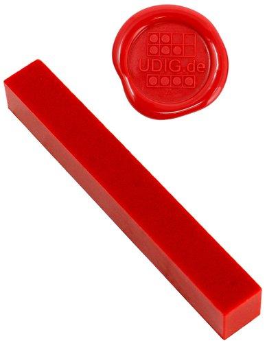 Siegelwachs - unser feinster - Rot, 1 Stange, 7 cm