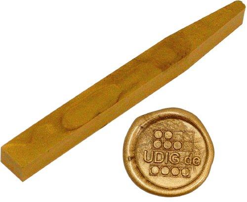 Siegelwachs Stange flexibel Gold, 12,8 cm